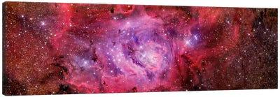 The Lagoon Nebula (NGC 6523) Canvas Art Print