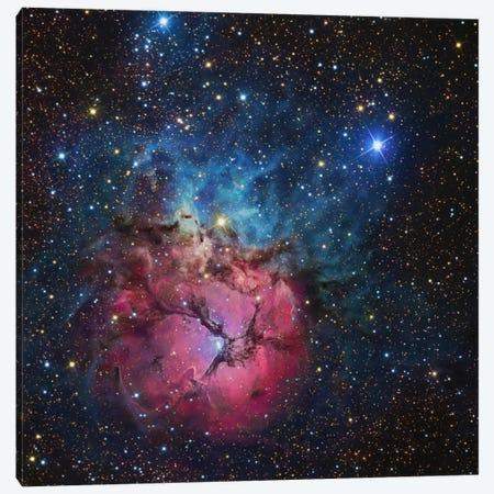 The Trifid Nebula (NGC 6514) Canvas Print #TRK1287} by R. Jay GaBany Art Print