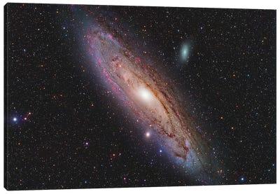 Andromeda Galaxy (NGC 224) Canvas Art Print