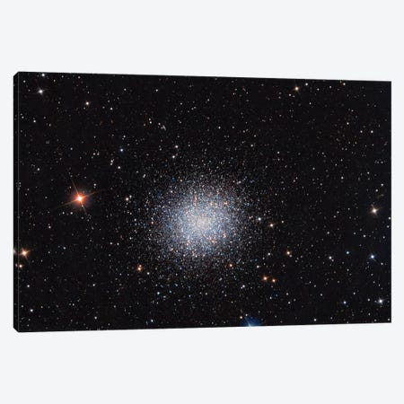 Globular Cluster (M13) In The Constellation Hercules Canvas Print #TRK1291} by Reinhold Wittich Art Print