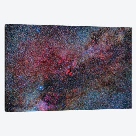 Part Of The Milky Way Constellation In Cygnus Canvas Print #TRK1292} by Reinhold Wittich Canvas Art Print