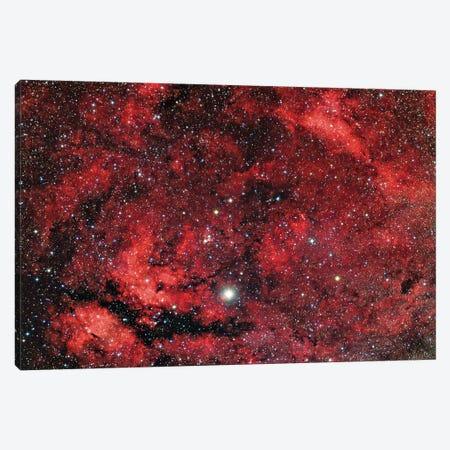 Sadr Region In The Constellation Cygnus I Canvas Print #TRK1293} by Reinhold Wittich Art Print