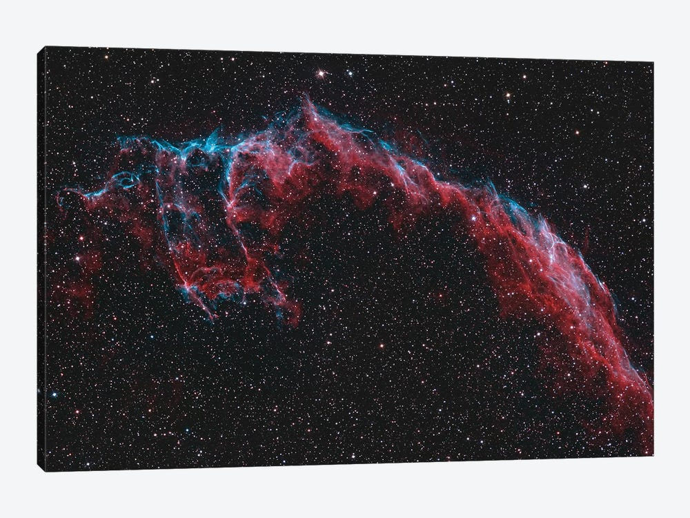 The Eastern Veil Nebula (NGC 6992) by Reinhold Wittich 1-piece Art Print