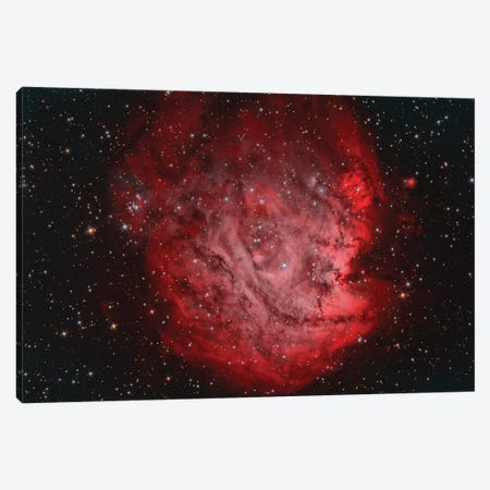 The Monkey Head Nebula (NGC 2174) With IC 2159 Nebulosity Canvas Print #TRK1299} by Reinhold Wittich Art Print