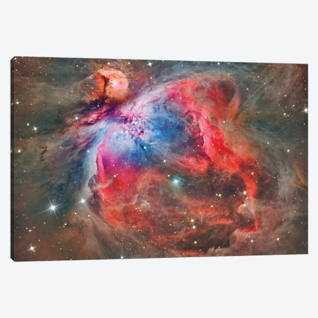 The Orion Nebula (NGC 1976) Canvas Print #TRK1301} by Reinhold Wittich Canvas Print