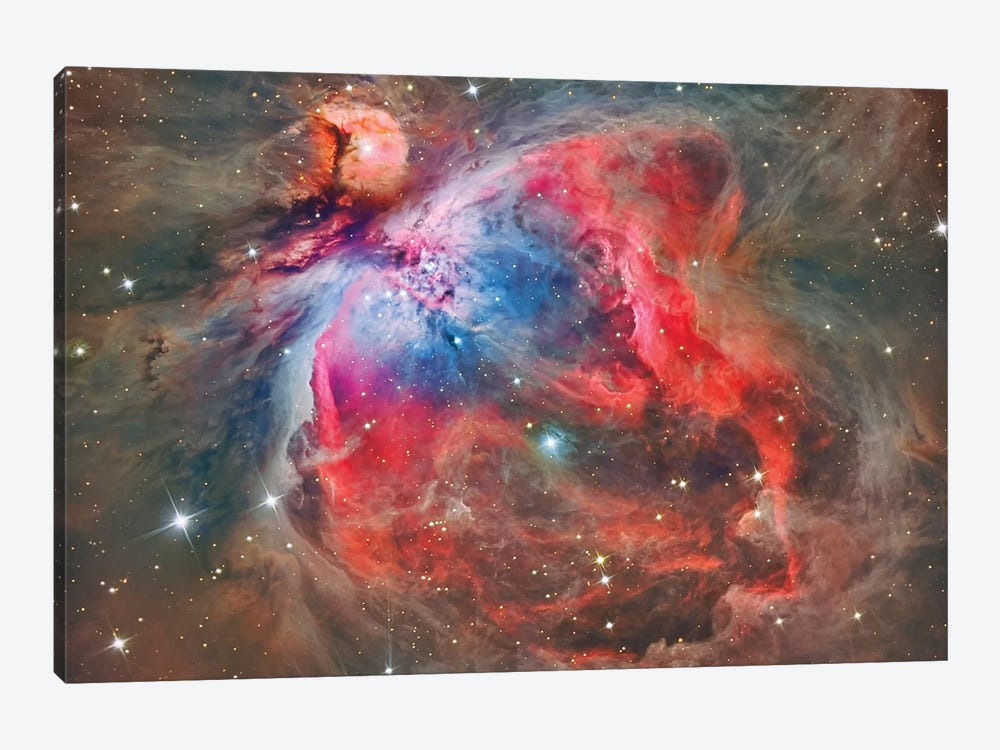 The Orion Nebula (NGC 1976) by Reinhold Wittich 1-piece Canvas Artwork