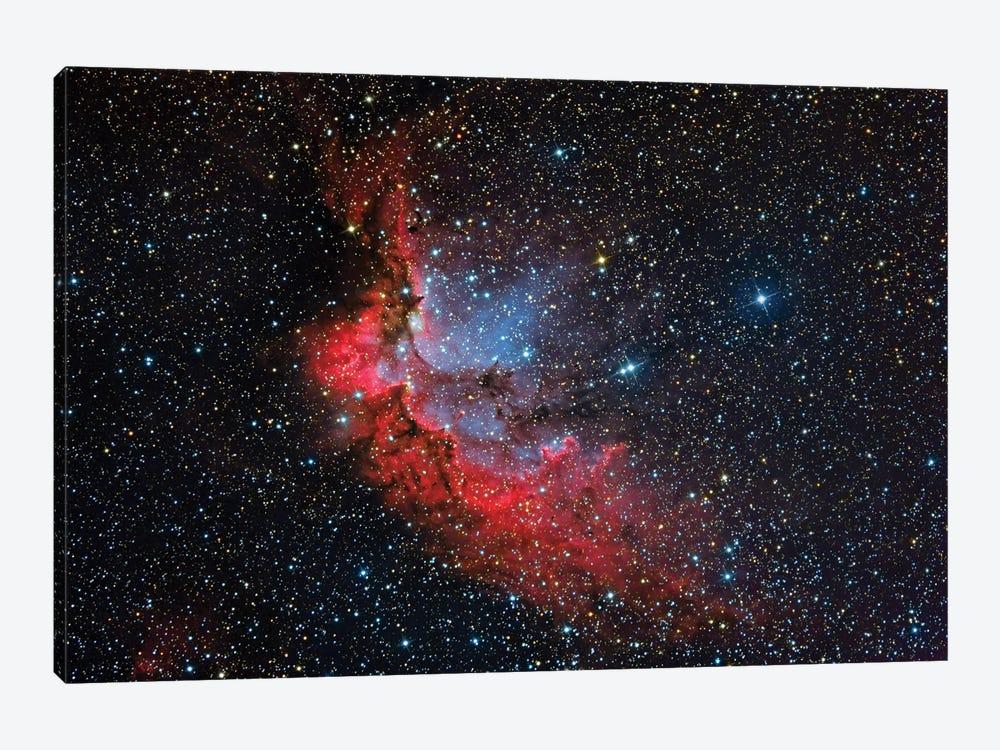 The Wizard Nebula (NGC 7380) by Reinhold Wittich 1-piece Art Print