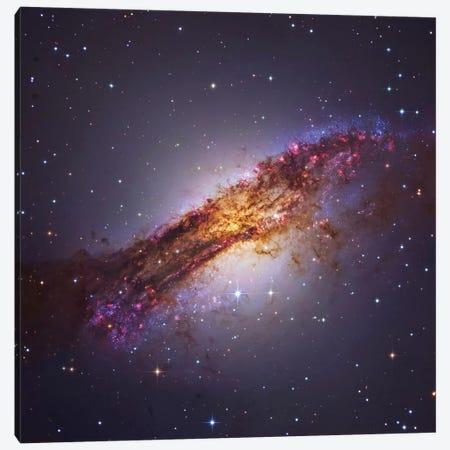 Centaurus A - Galaxy In The Constellation Centaurus Canvas Print #TRK1315} by Roberto Colombari Art Print