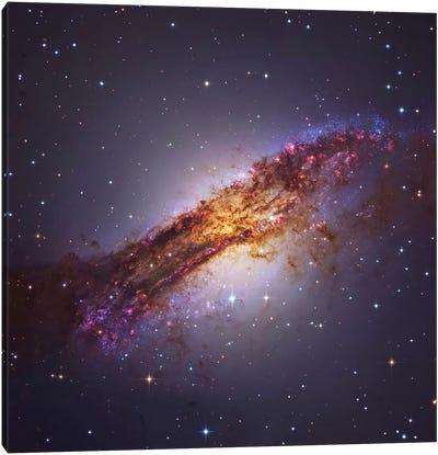 Centaurus A - Galaxy In The Constellation Centaurus Canvas Art Print