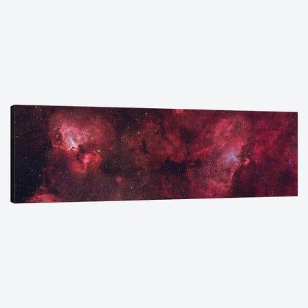 Eagle Nebula (M16) And Swan Nebula (M17) II Canvas Print #TRK1317} by Roberto Colombari Canvas Print