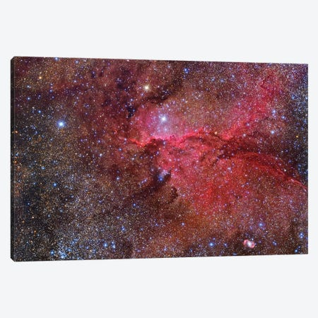 Emission Nebula (NGC 6188) In The Ara Constellation II Canvas Print #TRK1320} by Roberto Colombari Canvas Art Print