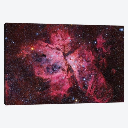 Eta Carina Nebula (NGC 3372) I Canvas Print #TRK1321} by Roberto Colombari Canvas Art Print