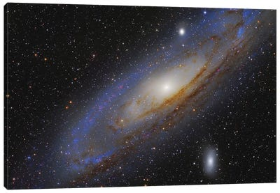 The Andromeda Galaxy (M31) II Canvas Art Print