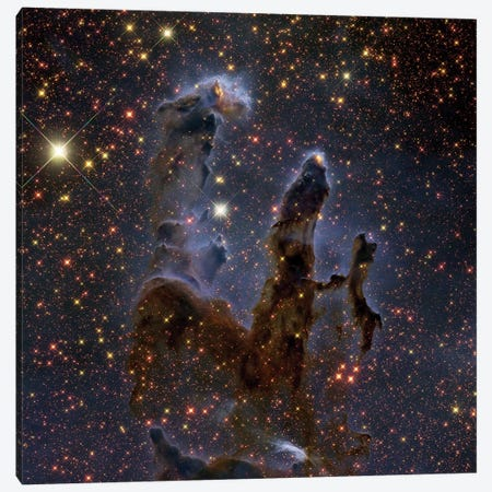 The Eagle Nebula In Serpens (M16) Canvas Print #TRK1331} by Roberto Colombari Canvas Artwork