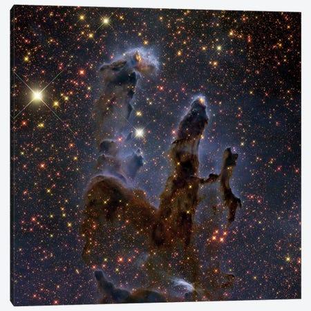 The Eagle Nebula In Serpens (M16) Canvas Print #TRK1331} by Roberto Colombari Canvas Artwork