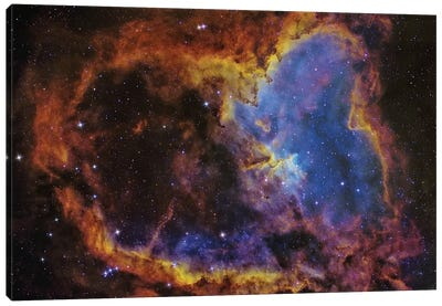 The Heart Nebula (IC 1805) In The Cassiopeia Constellation Canvas Art Print