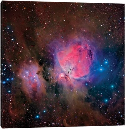 The Orion Nebula (M42) Canvas Art Print