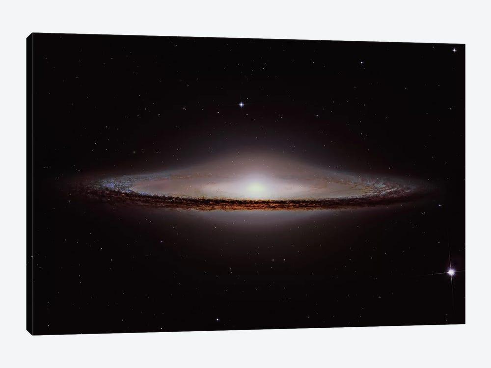 The Sombrero Galaxy (NGC 4594) by Roberto Colombari 1-piece Canvas Wall Art