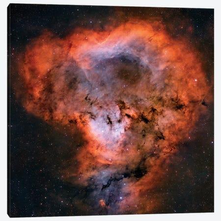 NGC 7822 Emission Nebula Canvas Print #TRK1348} by Rolf Geissinger Art Print