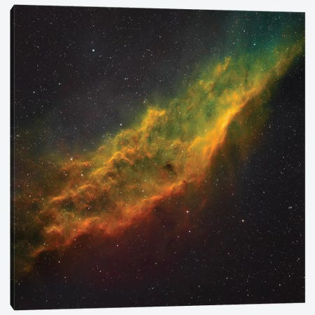 The California Nebula (NGC 1499) I Canvas Print #TRK1352} by Rolf Geissinger Canvas Wall Art