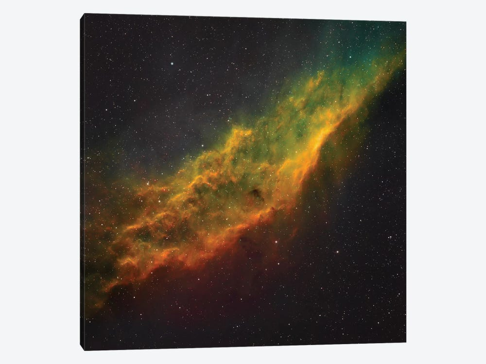 The California Nebula (NGC 1499) I by Rolf Geissinger 1-piece Canvas Art