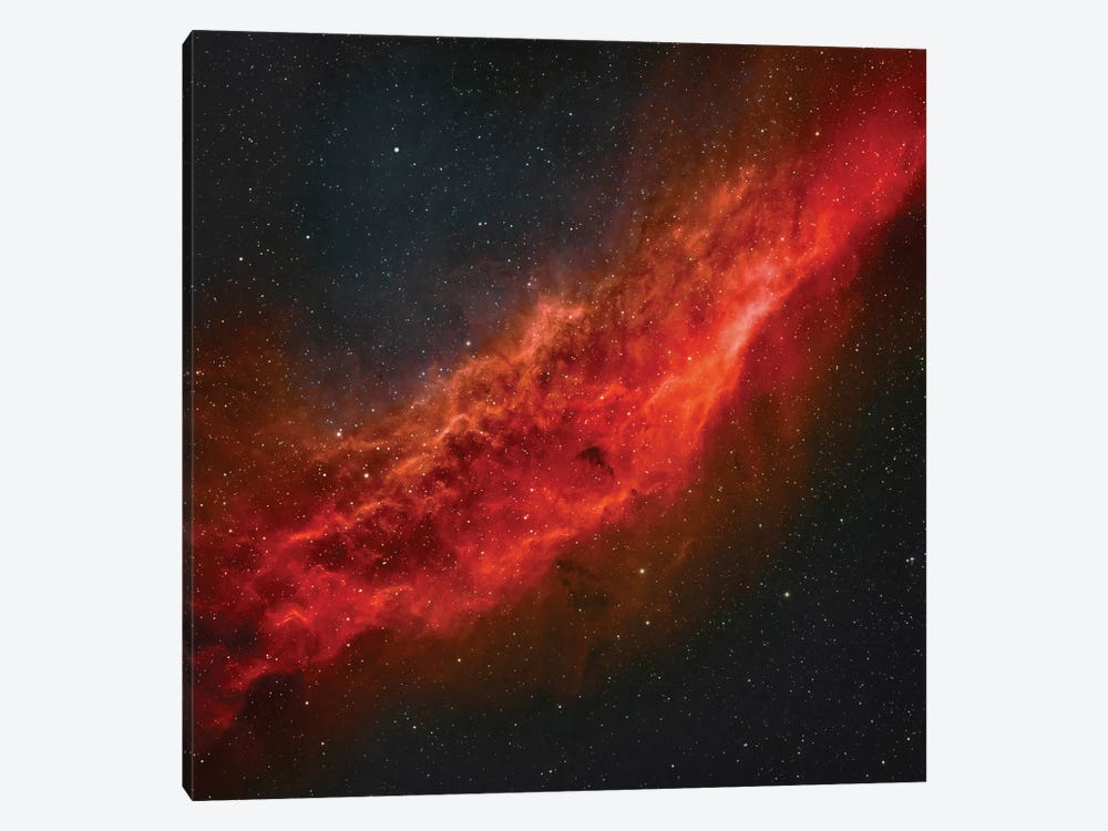 The California Nebula (NGC 1499) II 1-piece Canvas Art Print