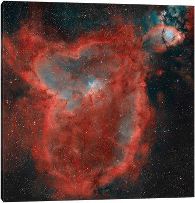 The Heart Nebula (IC 1805) II Canvas Art Print