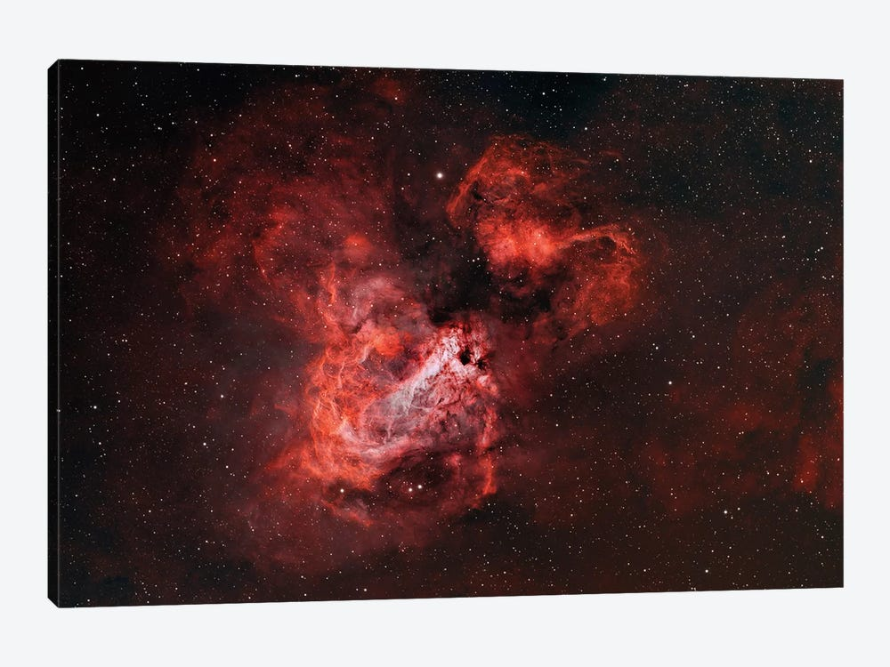The Omega Nebula (M17) by Rolf Geissinger 1-piece Canvas Print
