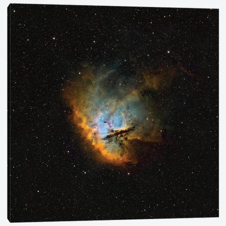 The Pacman Nebula (NGC 281) I Canvas Print #TRK1363} by Rolf Geissinger Canvas Art Print