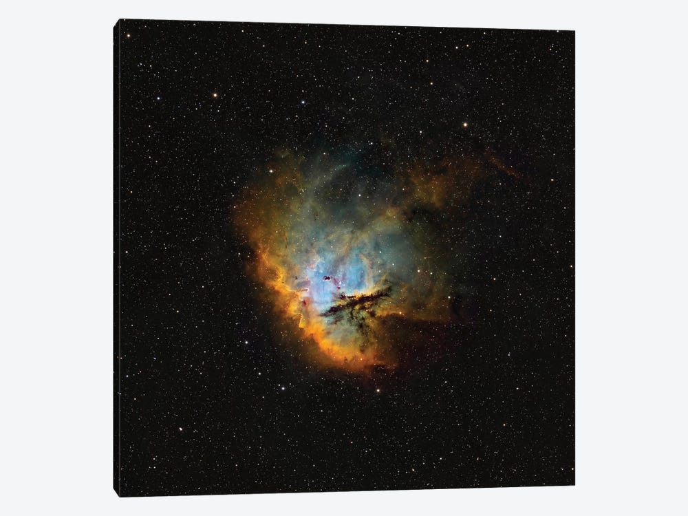 The Pacman Nebula (NGC 281) I by Rolf Geissinger 1-piece Canvas Art