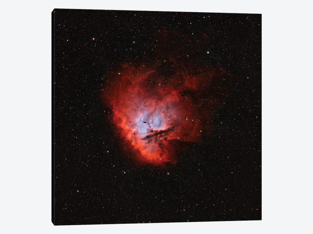 The Pacman Nebula (NGC 281) II by Rolf Geissinger 1-piece Canvas Art Print