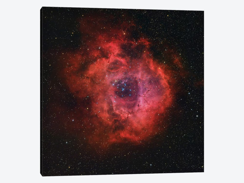 The Rosette Nebula by Rolf Geissinger 1-piece Art Print