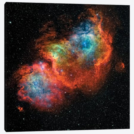 The Soul Nebula (IC 1848) Canvas Print #TRK1367} by Rolf Geissinger Canvas Art