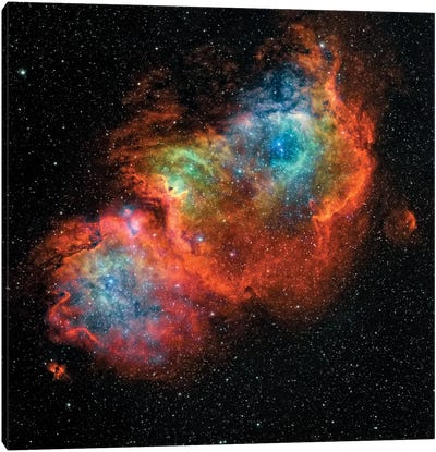 The Soul Nebula (IC 1848) Canvas Art Print