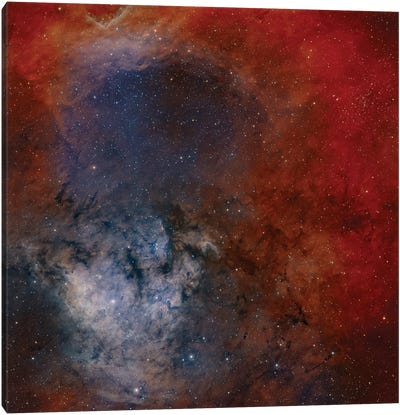 Young Star-Forming Complex NGC 7822 Canvas Art Print