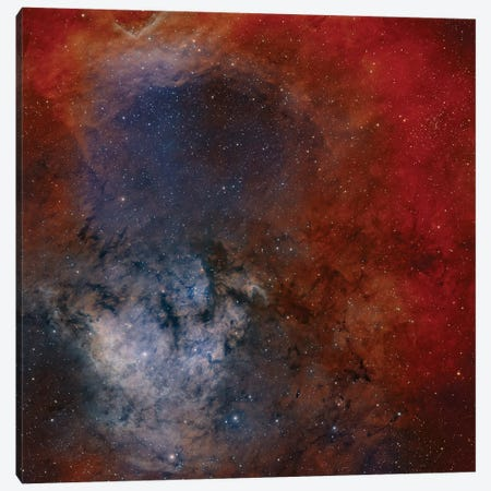 Young Star-Forming Complex NGC 7822 Canvas Print #TRK1370} by Rolf Geissinger Canvas Artwork