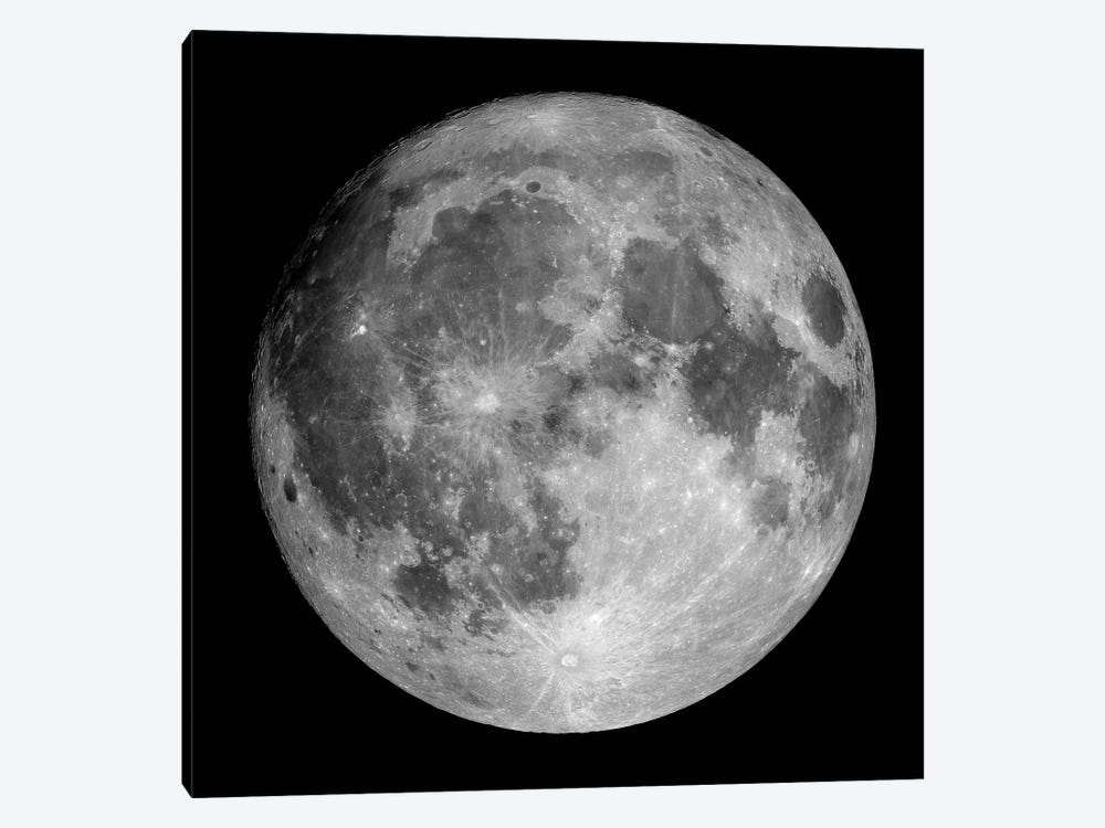 Full Moon by Roth Ritter 1-piece Canvas Art