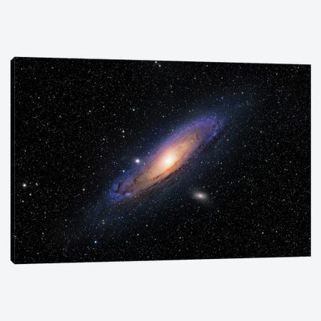 The Andromeda Galaxy (NGC 224) 3-Piece Canvas #TRK1379} by Roth Ritter Canvas Art