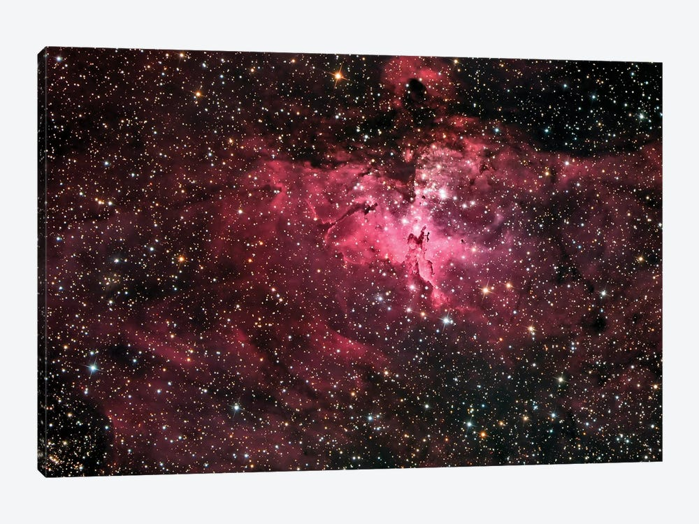 The Eagle Nebula (M16) by Roth Ritter 1-piece Canvas Art Print
