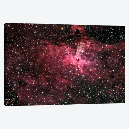 The Eagle Nebula (M16) Canvas Print #TRK1380} by Roth Ritter Art Print