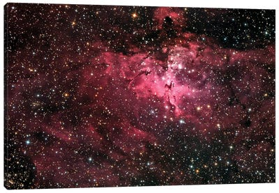The Eagle Nebula (M16) Canvas Art Print