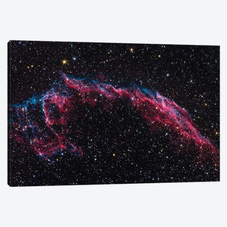 The Eastern Veil Nebula (NGC 6992) Canvas Print #TRK1381} by Roth Ritter Canvas Art Print
