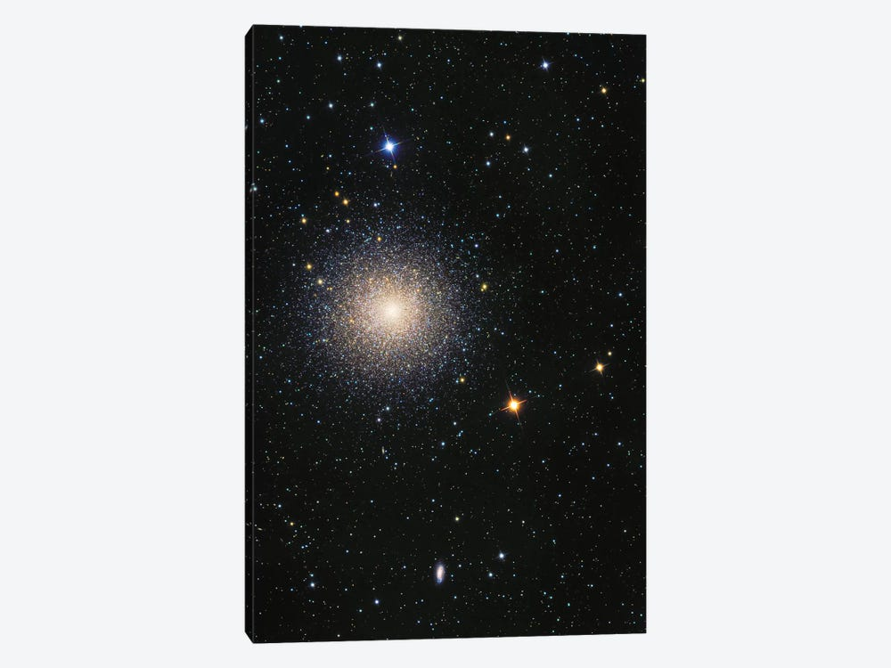 The Great Globular Cluster In Hercules (NGC 6205) by Roth Ritter 1-piece Canvas Art Print
