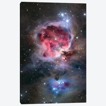 The Orion Nebula (NGC 1976) Canvas Print #TRK1383} by Roth Ritter Canvas Art Print