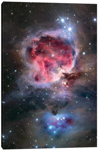 The Orion Nebula (NGC 1976) Canvas Art Print