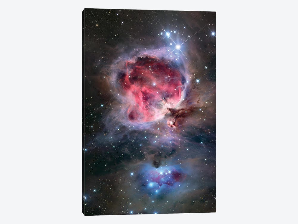 The Orion Nebula (NGC 1976) by Roth Ritter 1-piece Canvas Artwork