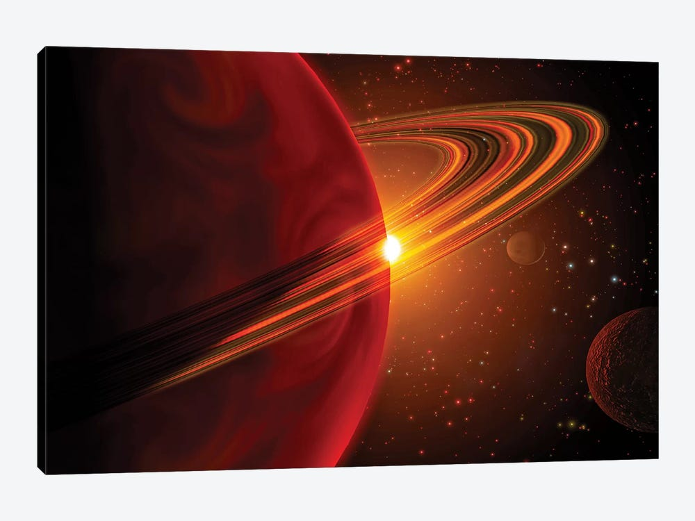 A Giant Planet Orbiting The Sun-Like Star 79 Ceti by Stocktrek Images 1-piece Art Print