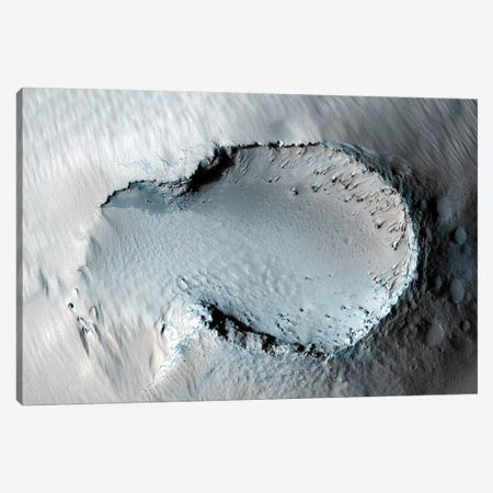 A Small Cone On The Side Of One Of Mars' Giant Shield Volcanoes Canvas Print #TRK1404} by Stocktrek Images Canvas Art Print