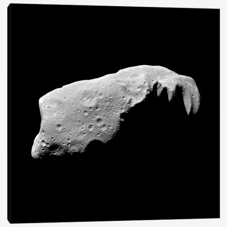 Asteroid 243 Ida Canvas Print #TRK1430} by Stocktrek Images Canvas Art Print