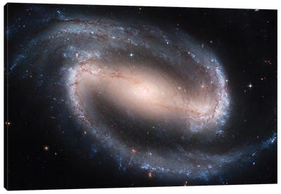 Barred Spiral Galaxy (NGC 1300) Canvas Art Print